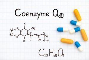 Coenzyme Q10 (CoQ10) Organic Structure