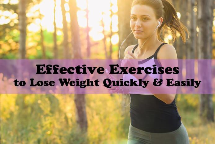 Exercices efficaces pour perdre du poids rapidement et facilement
