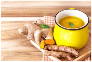Ginger or Turmeric Tea - Pneumonia Diagnosis at Home