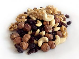 Nuts - high polyunsaturated fat foods