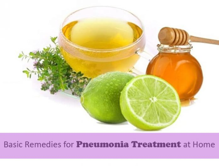 Pneumonia Treatment at Home