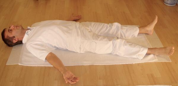 Shavasana Corpse Yoga Pose