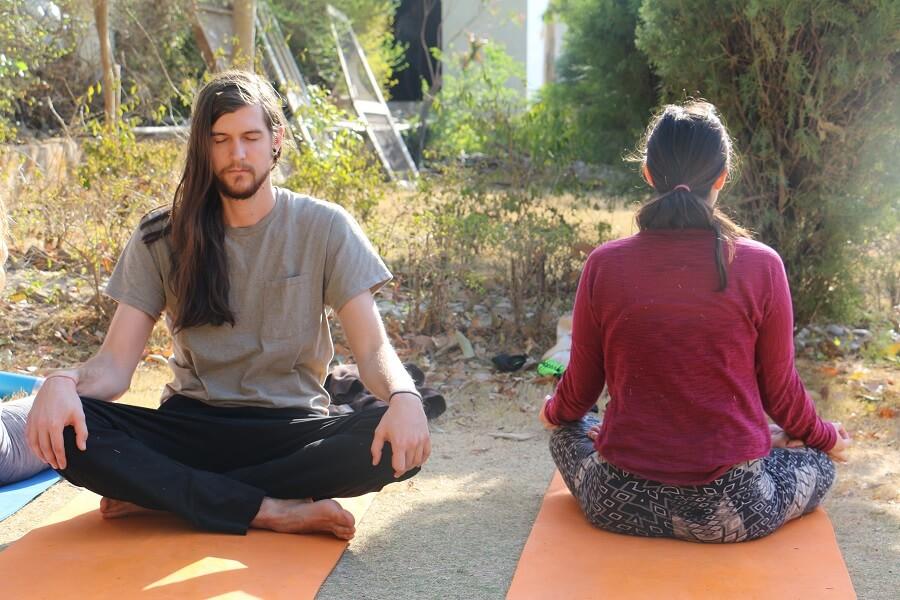 Seated Yoga Pose