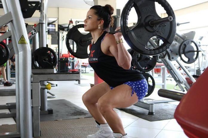 Women Bodybuilding Exercise