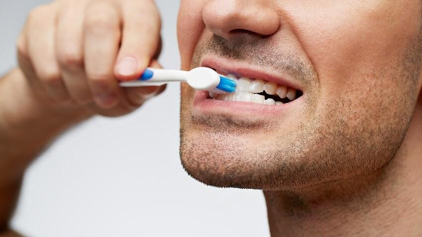 Brushing Teeth Hard