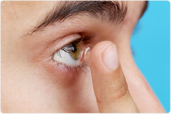 Uncomfortable Contact Lenses